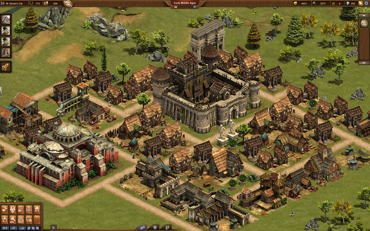 when regestering forge of empires how to choose a world