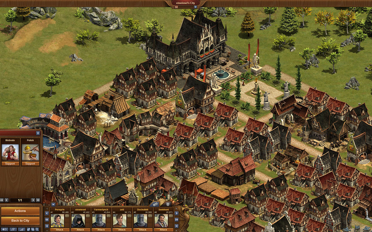 Free online strategy game - Forge of Empires