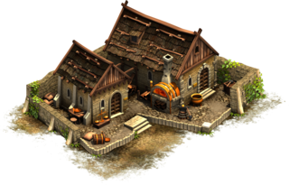 Early Middle Ages Good Buildings Forge Of Empires